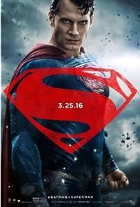 US版ポスター バットマンvsスーパーマン Batman vs Superman 69×101cm 両面印刷 D/S us4 [並行輸入品]