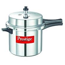 Prestige Popular Aluminium Pressure Cooker, 6 Litres