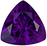 Fantastic Amethyst Genuine Brazilian Gemstone- Great Find! Trillion Cut, 3 carats