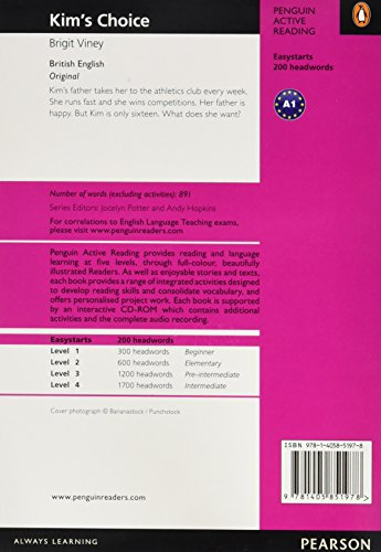 Penguin Active Reading ES: Kim's Choice Book and CD-ROM Pack (Penguin Active Reading (Graded Readers))