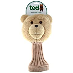 Ted Talking Golf Club Cover, R-Rated, 5 Phrases by Ted