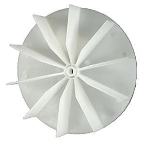Nutone 663l 663ln 663n vf305cn vc305c3 ventrola for Plastic fan blades for electric motors