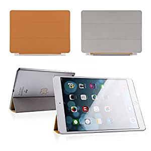 Orange Smart Leather Case Cover for Apple iPad Air iPad 5 2013 Wake/Sleep Magnetic Flip