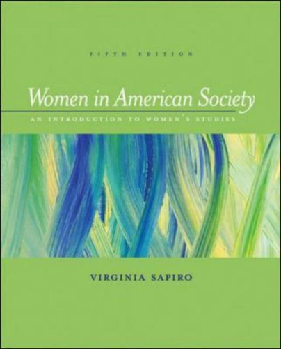 Women In American Society: An Introduction to Women's...