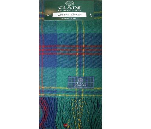 Gretna Green Ancient Tartan Scarf (Clan Scarf)