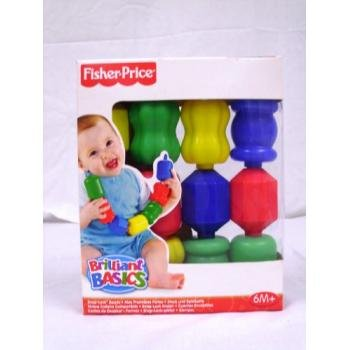FISHER PRICE Snap-LOCK Beads Fun Shapes BABY