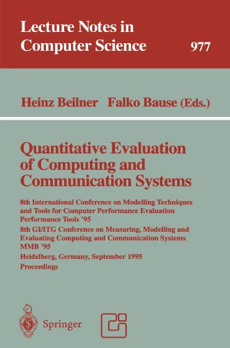 Quantitative Evaluation of Computing and Communication Systems: 8th International Conference on Modelling Techniques and Tools for Computer ... Septem (Lecture Notes in Computer Science)