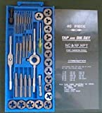 40 pc TAP and DIE Set STANDARD