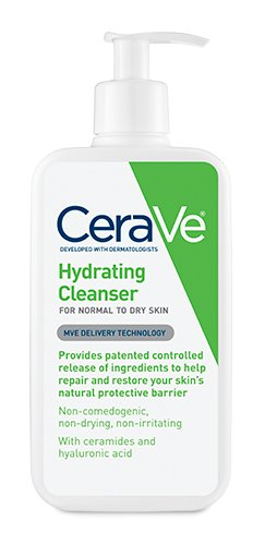 CeraVe Hydrating Skin Cleanser, 12 oz (Pack of 2)
