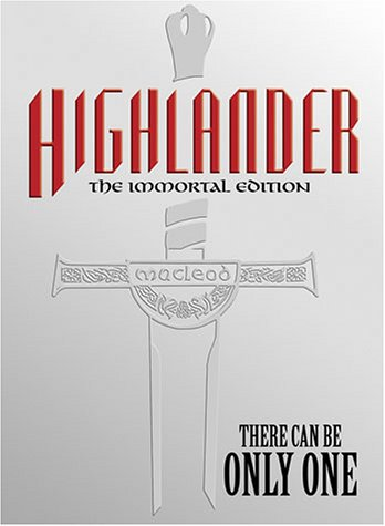 Cover art for  Highlander (The Immortal Edition)