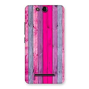 Ajay Enterprises Pink Walloy Back Case Cover for Micromax Canvas Juice 3 Q392
