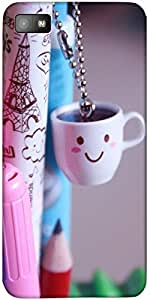 Snoogg Smile Cups Case Cover For Blackberry Z10