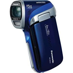 Panasonic HX-WA2 Waterproof Full HD Camcorder (Blue) HX-WA2A