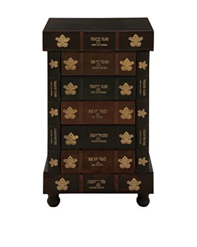 Faux Leather Chest, Brown