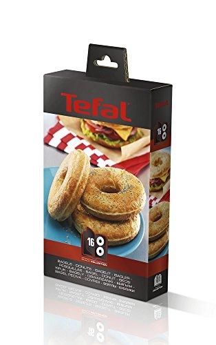 Tefal XA801612  Snack Collection Pl Bagels Eu Accessoire pour Croque Gaufre