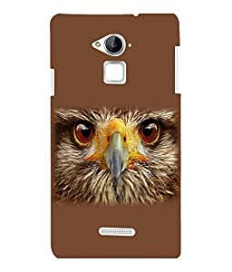 printtech Eagle Look Back Case Cover for COOLPAD NOTE 3 / COOLPAD NOTE 3 PLUS
