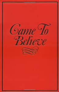 Cover of &quot;Came to Believe&quot;