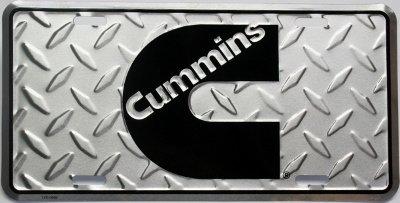 Dodge Cummins Diesel License Plate Tag Injectors Engine Sign Decal Emblem Diamond Tread (Dodge Cummins Injectors compare prices)