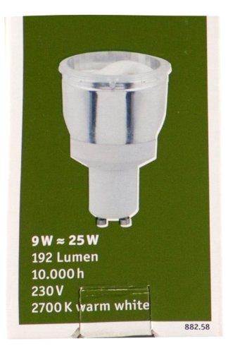 Paulmann 88258 Energiesparlampe Reflektor 9W GU10 (S10)