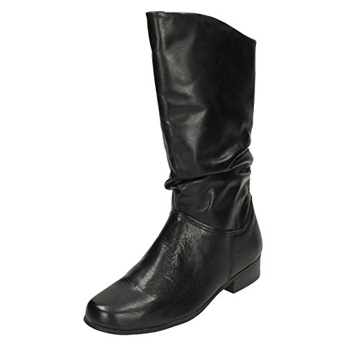 ladies-leather-collection-pull-up-calf-length-boots-f50694-black-leather-uk-size-6-eu-size-39-us-siz