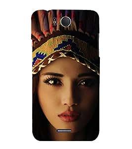 EPICCASE Tribal woman Mobile Back Case Cover For InFocus M530 (Designer Case)