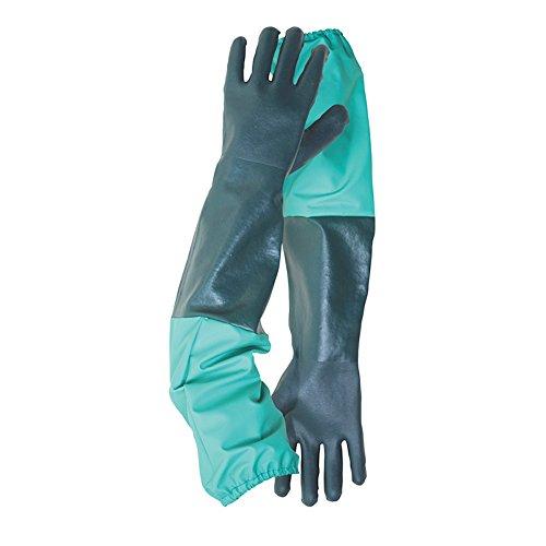 egoutter-et-gants-de-jardinage-etang-nettoyage-exterieur