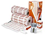 Prowarm Electric Underfloor Heating 150W Mat Kit 23.0M2 - Includes Free Honeywell AUBE TH232 Thermostat