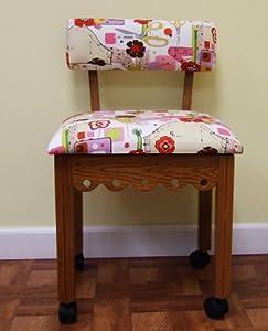 Amazon Arrow Oak Sewing Chair