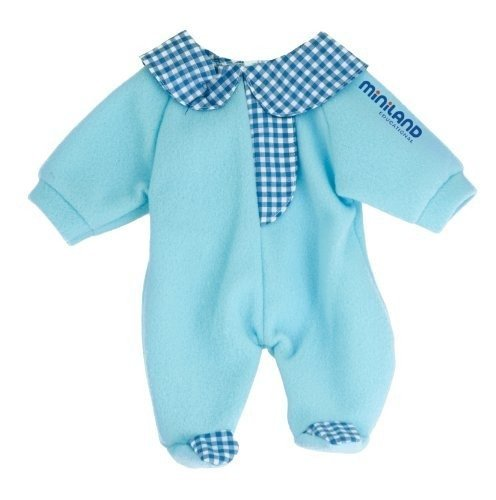 Miniland Blue Pajama For 12.63'' Baby Dolls front-850258