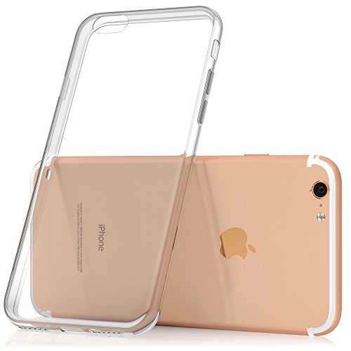 SDTEK-iPhone-7-Custodia-Cover-Case-Bumper-Caso-Trasparente-Crystal-Clear-Silicone-Gel