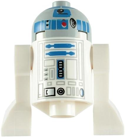 LEGO Star Wars: R2-D2 Astromech Droid (Gris Tête) Mini-Figurine