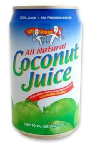Amy & Brian Natural Coconut Juice Unsweetened 10oz Tins