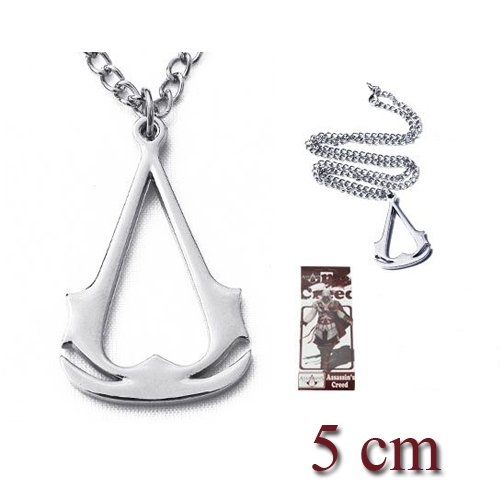 ASSASSIN'S CREED COLLANA LOGO EZIO ALTAIR CONNOR NECKLACE