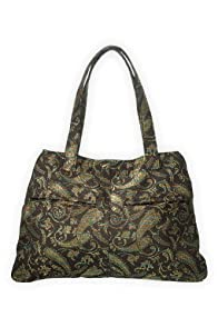 Green 3 Apparel Reclaimed Paisley Handbag