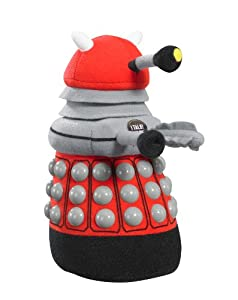 Amazon.com: Doctor Who Medium Talking Red Dalek Plush: Toys & Games