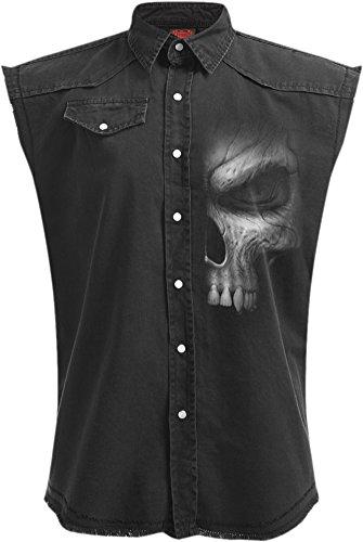 Spiral -  Camicia Casual  - Uomo Black Medium