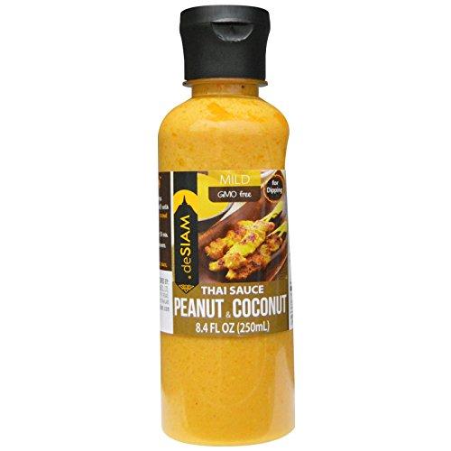 deSIAM, Thai Sauce Peanut & Coconut, Mild, 8.4 fl oz (250 ml) deSIAM, Thai Sauce Peanut & Coconut, Mild, 8.4 fl oz (250 ml) - 2pcs (Mild Peanut Sauce compare prices)