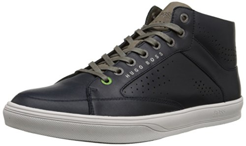 BOSS Green by Hugo Boss Men's Attilaser Fashion Sneaker, Navy, 12 M US