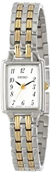 Seiko Womens SXGL61 Dress Two-Tone Watch