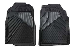 Duty Negro Tapetes para camionetas, SUVs y CUVs (2 piezas): Automotive