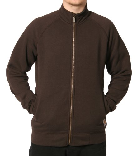 Carhartt K350 Zip Sweatshirt Brown Mens Hoodie Top
