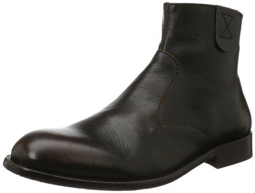 Hudson Mens Haxton Boots Black Schwarz (Black) Size: 44
