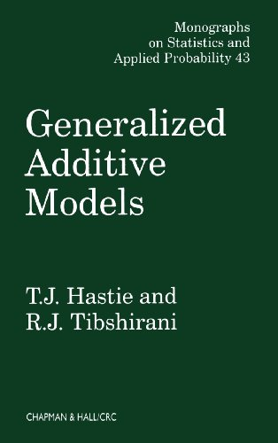 Generalized Additive Models (Chapman & Hall/CRC Monographs on Statistics & Applied Probability)