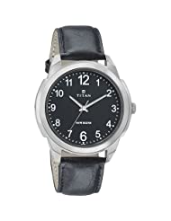 Titan Neo Black Dial Analog Watch For Men-1585SL08