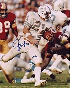 JIM KIICK signed autographed NFL MIAMI DOLPHINS photo