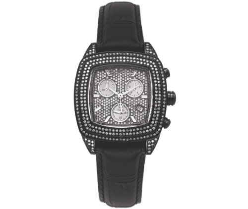 Joe Rodeo Ladies Chelsea 5.0 Carat Diamond Watch Black #JCHE3