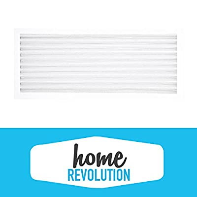 Hamilton Beach True Air 04383 04384 04385 990051000 Compact Comparable Aftermarket Air Purifier Filter. A Quality Home Revolution Brand Replacement. …