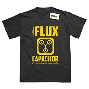 Flux Capacitor Delorean Back to the Future Inspired T-Shirt
