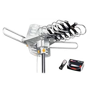 Amplifier Outdoor Hdtv Antenna With Motor