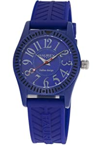 Haurex Italy PB331UB1 - Reloj para niños de cuarzo, correa de goma color azul claro